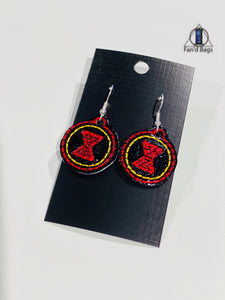 Black Widow Earrings