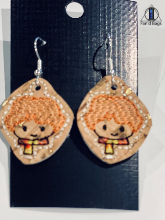 Ron Weasley Earrings
