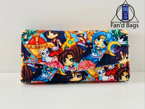 Sailor Moon Clutch Wallet