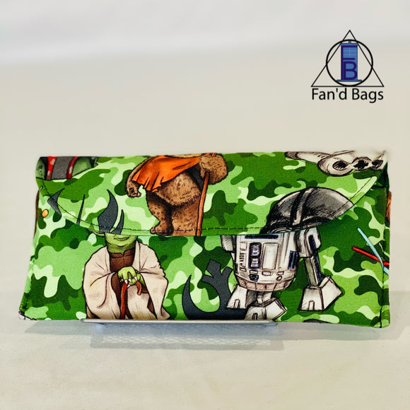 Camo Star Wars Eye Glass Case