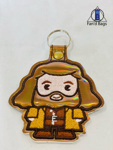 Rubeus Hagrid Embroidered Keychain