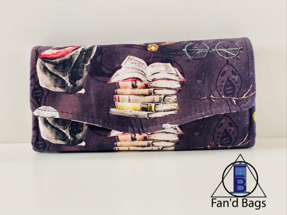 Harry Potter Watercolor Clutch Wallet