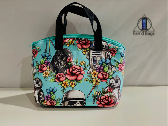 Floral Wars Lunch Box