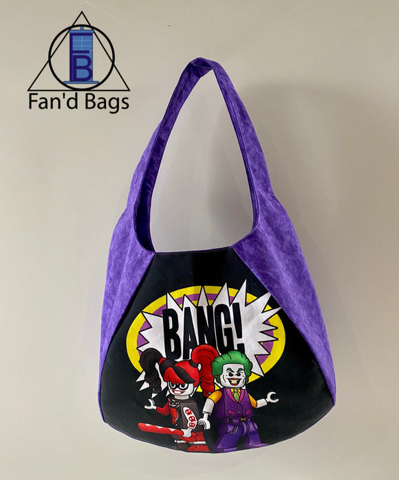 Harley and Joker Hobo Handbag