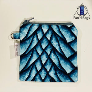 Icey Dragon Scales Coin Purse
