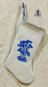 "Doctor Who Toile ""Ten"" Holiday Stocking"