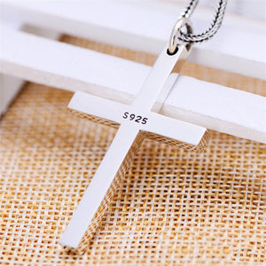 Solid Silver Cross Pendant High Quality Sterling