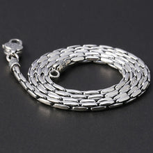 Pure Sterling Silver Necklace Thick Chain