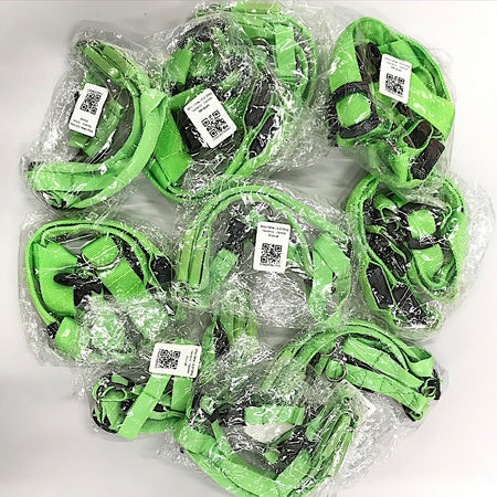 Lime Green Glow Led Dog Harness Lot 2425