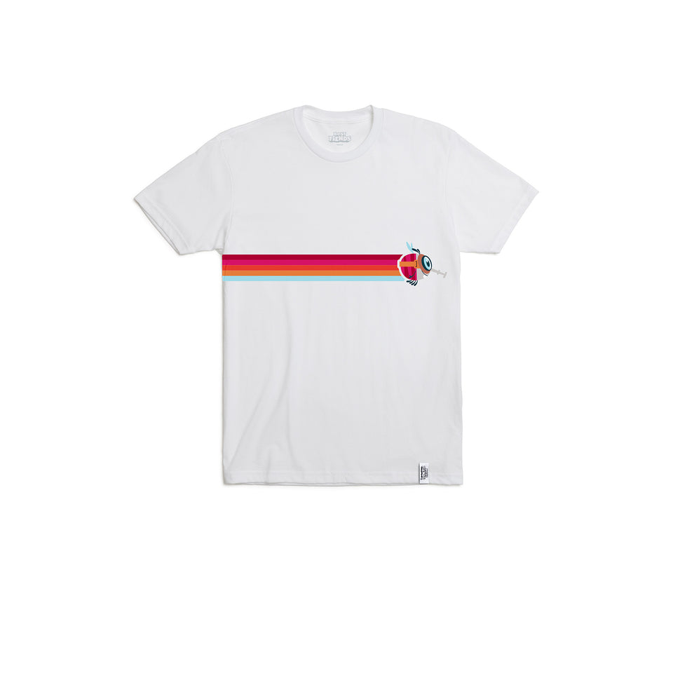 Brittle Racing Stripe Tee