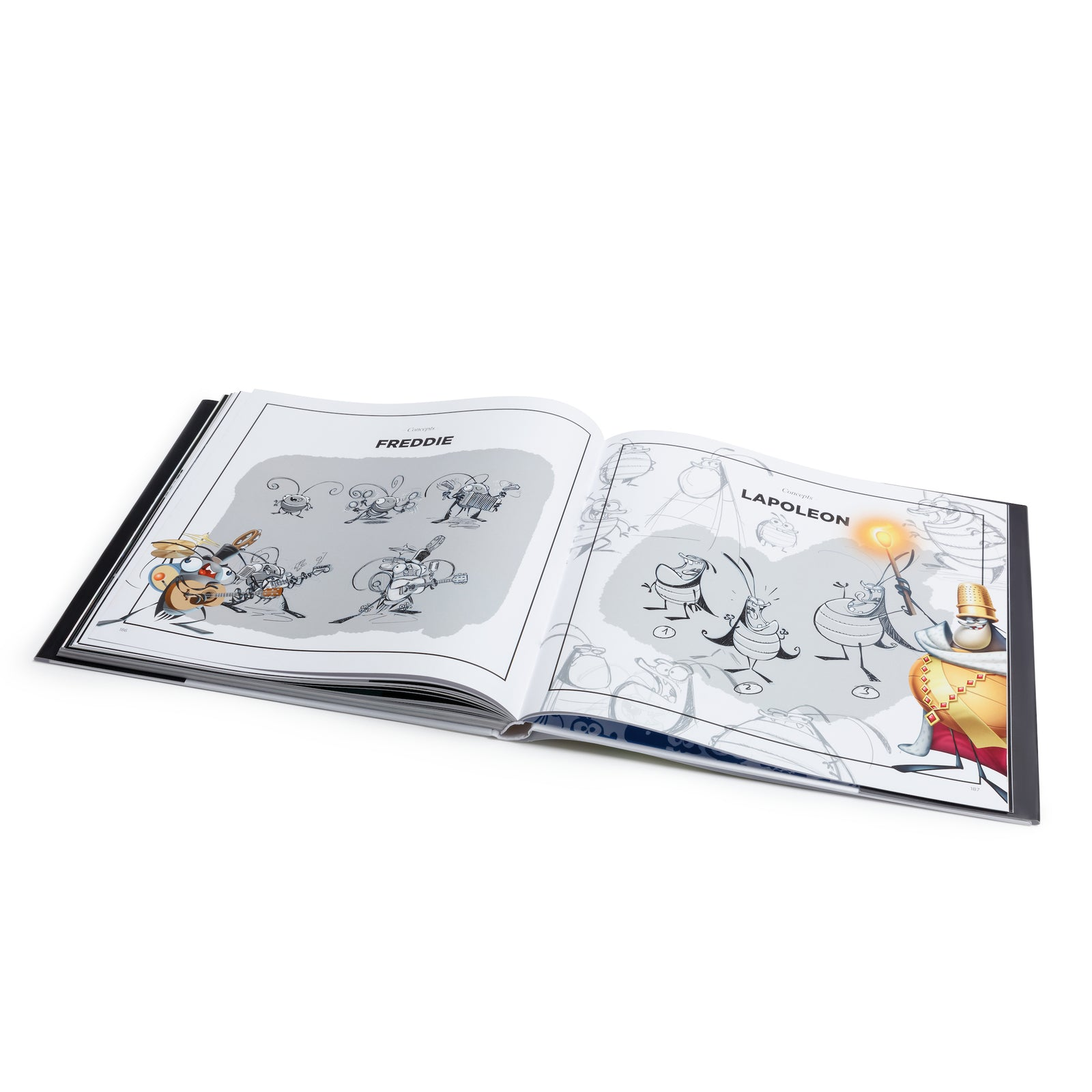 Best Fiends Art Book