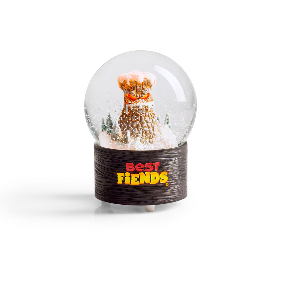 Best Fiends Mt. Boom Snowglobe