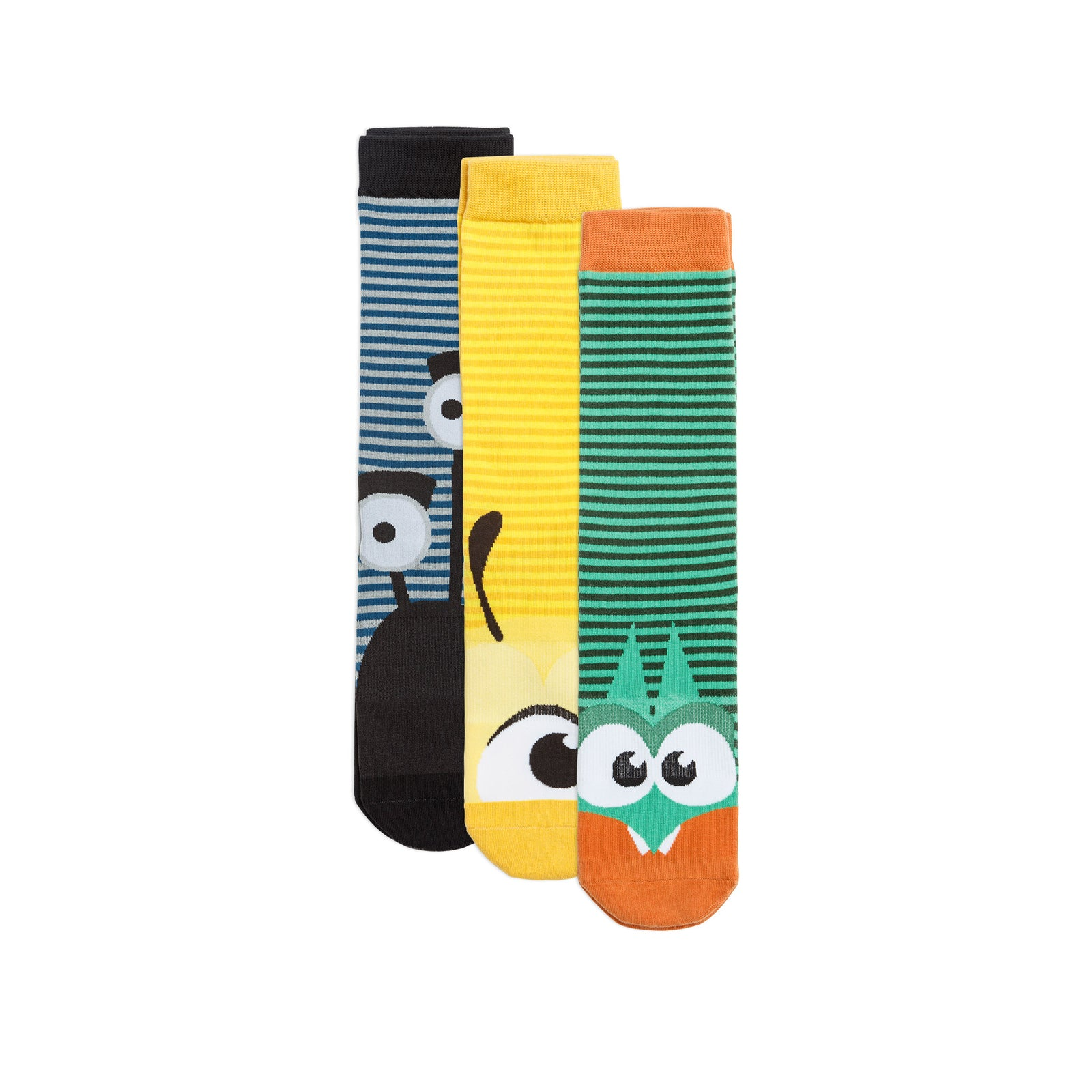 Striped Character Sock Pack