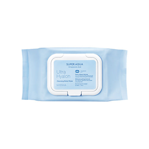 Missha Super Aqua Ultra  Hyaluronic Acid Cleansing Water Tissue