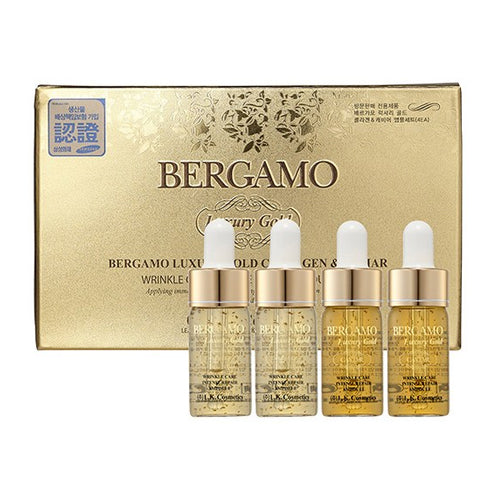 Bergamo Luxury Gold Repair Ampoule Set