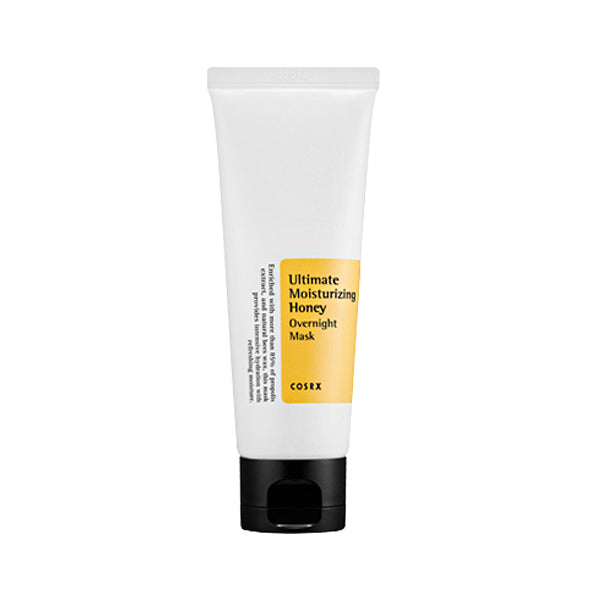 cosrx-ultimate-moisturizing-honey-overnight-mask-tube