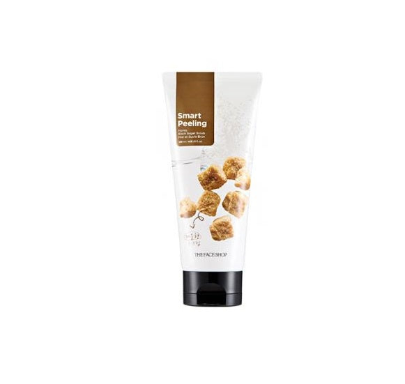 the-face-shop-smart-peeling-honey-black-sugar-scrub