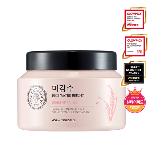The Face Shop Rice Water Bright Cleansing Cream [Big]