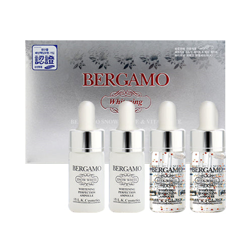 Bergamo Snow & Vita Whitening Perfection Ampoule Set