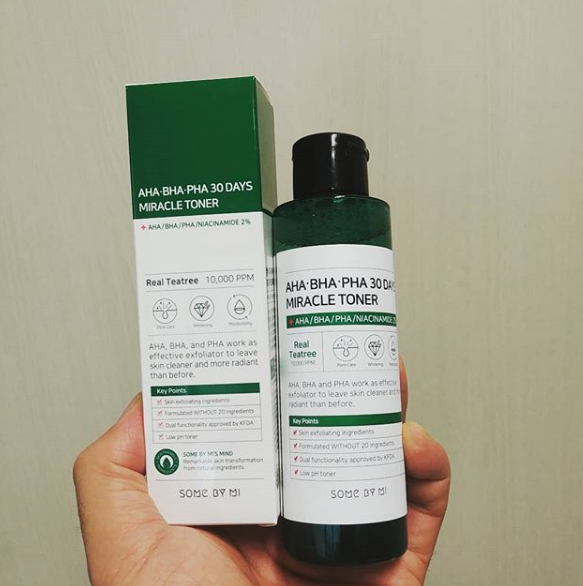 Some By Mi Miracle Toner 150ml - AHA/BHA/PHA 30 DAYS TONER