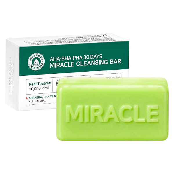 Some By Mi AHA/BHA/PHA Miracle Cleansing Bar 106g | Openthebeauty