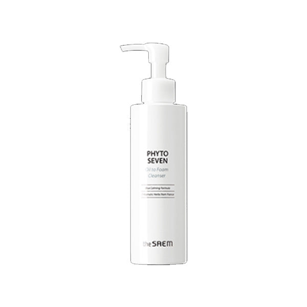 the SAEM Phyto Seven Oil to Foam Cleanser