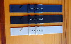 2-Piece Canvas Straps