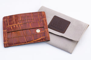 Alligator Travel Wallet