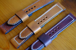 Calfskin and Cowhide Straps