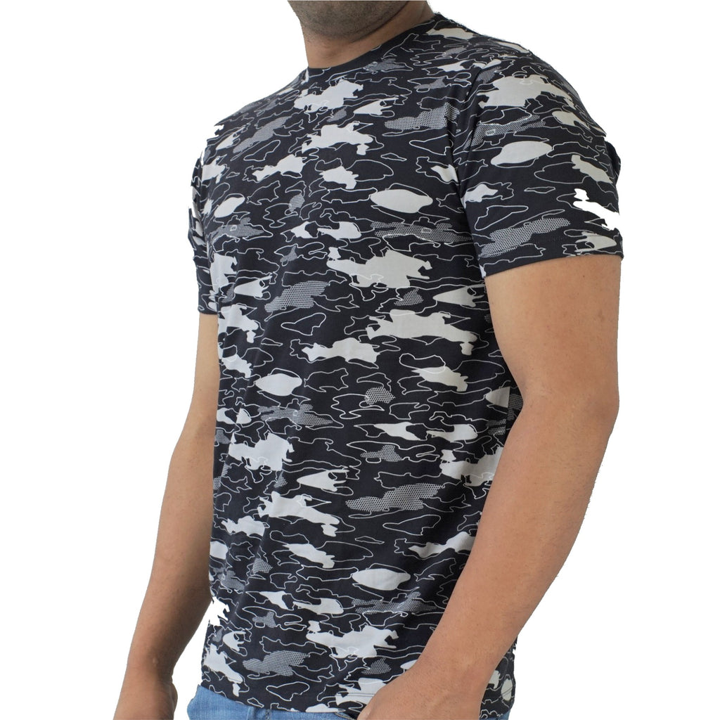 Black Camo - Pima Cotton