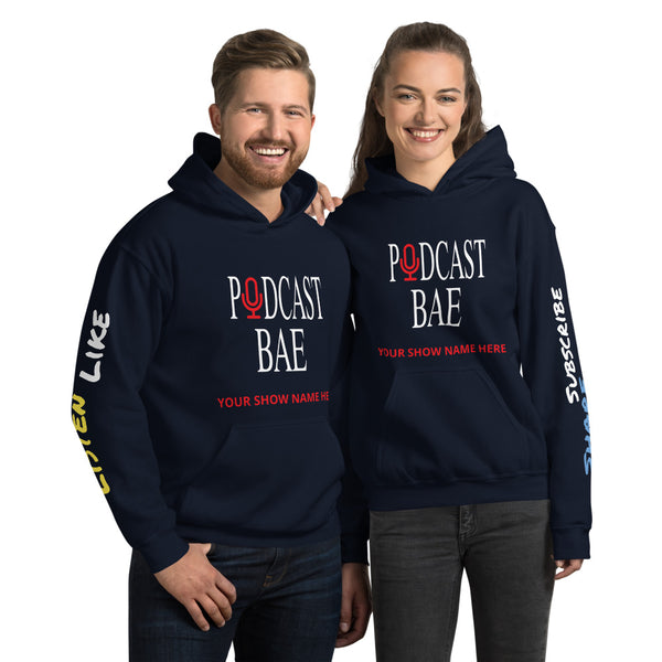 Podcast Bae Customizable Unisex Hoodie V2