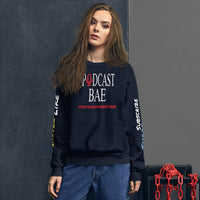 Podcast Bae Crewneck Customizable Unisex Sweatshirt
