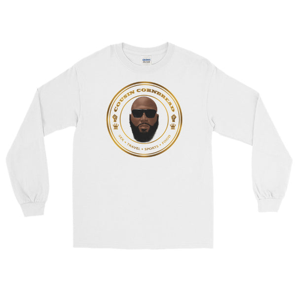 Cousin Cornbread Logo Long Sleeve T-Shirt