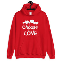 Choose Love Unisex Hoodie