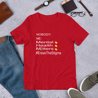 Mental Health Matters Short-Sleeve Unisex T-Shirt