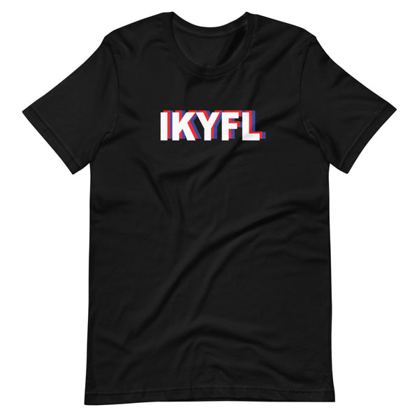 IKYFL Tri-Color Short-Sleeve Unisex T-Shirt