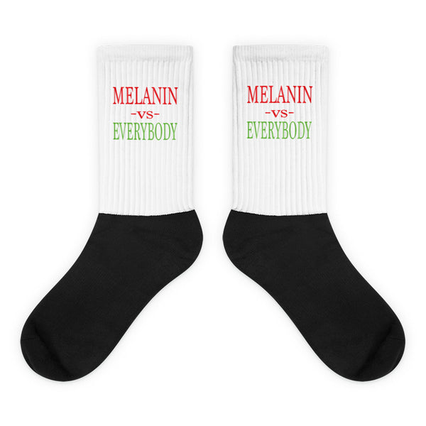 Melanin Vs Everybody Socks