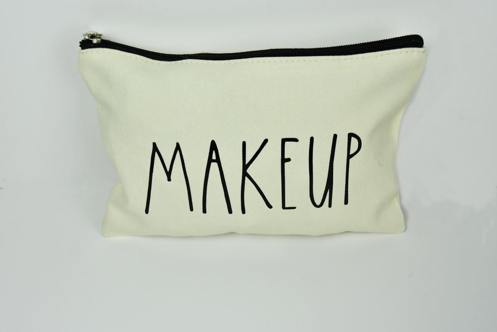 "Makeup bag ""MAKEUP"" custom - Bella Rose Closet"