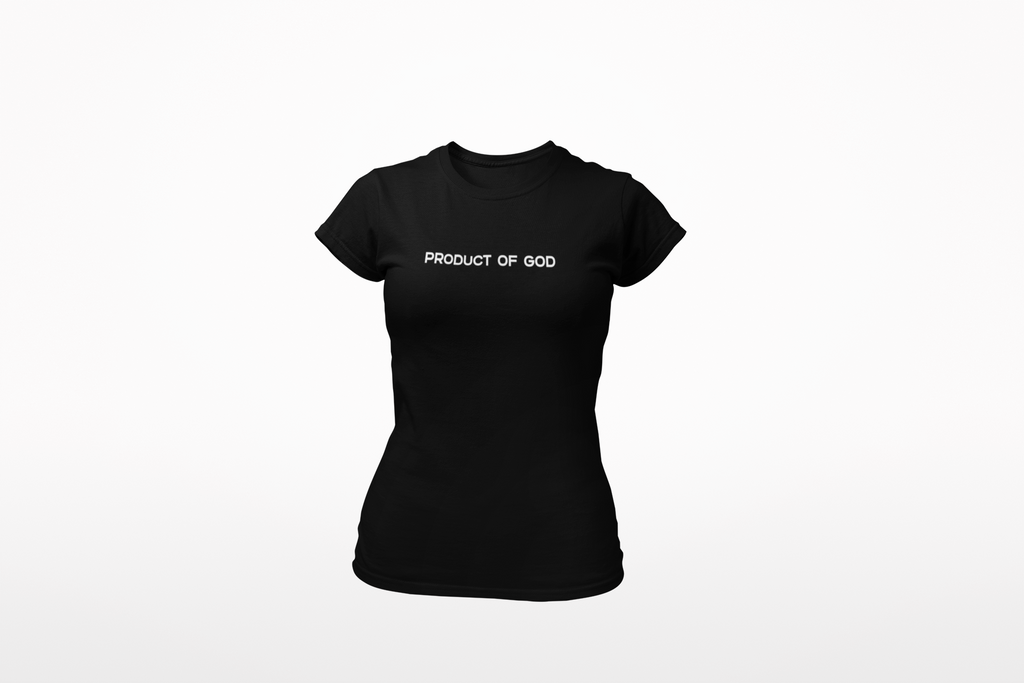 Product of God T-shirt Womens - Bella Rose Closet