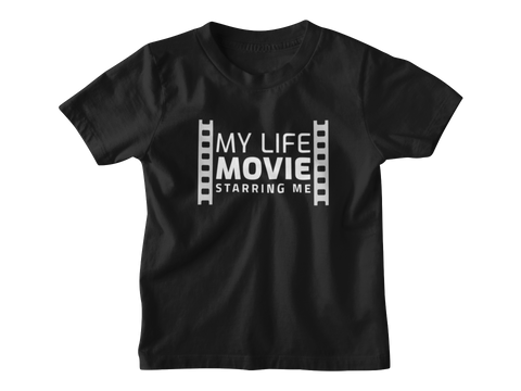 My Life Movie Toddler T-shirt Black - Bella Rose Closet
