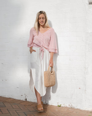 Havana Top in Blush