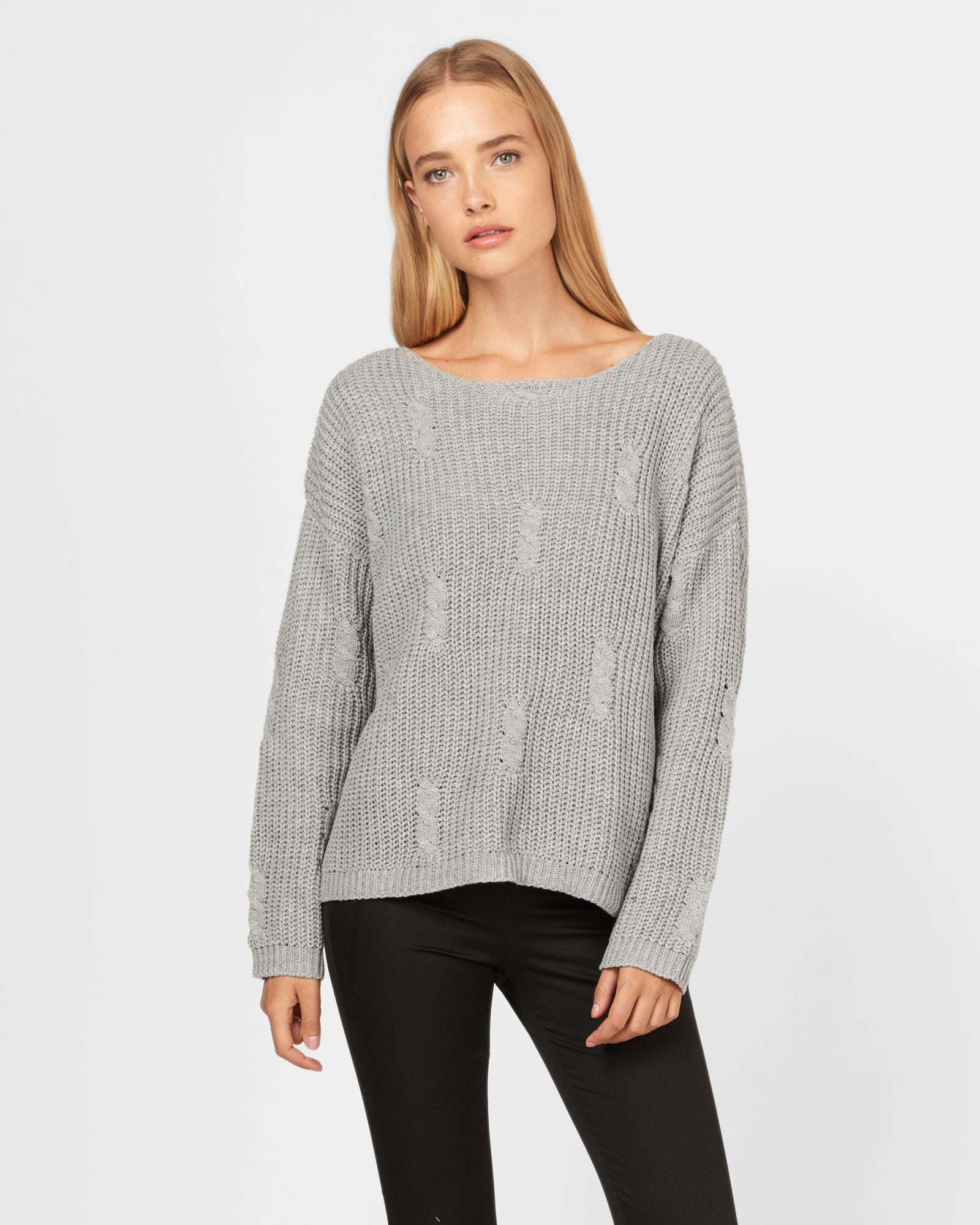 The Cloud Atlas Knit / Grey