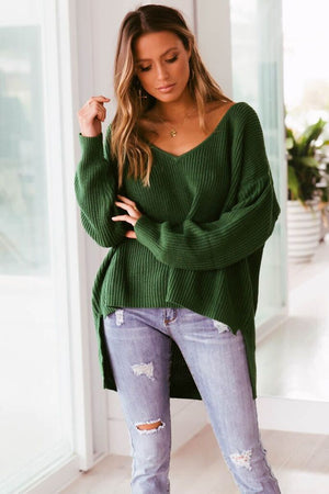 Sunday Mornings Knit - Green