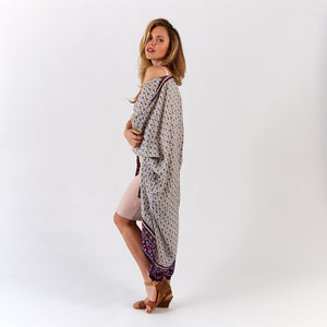 KIMOCAPE- TRIBAL PURPLE
