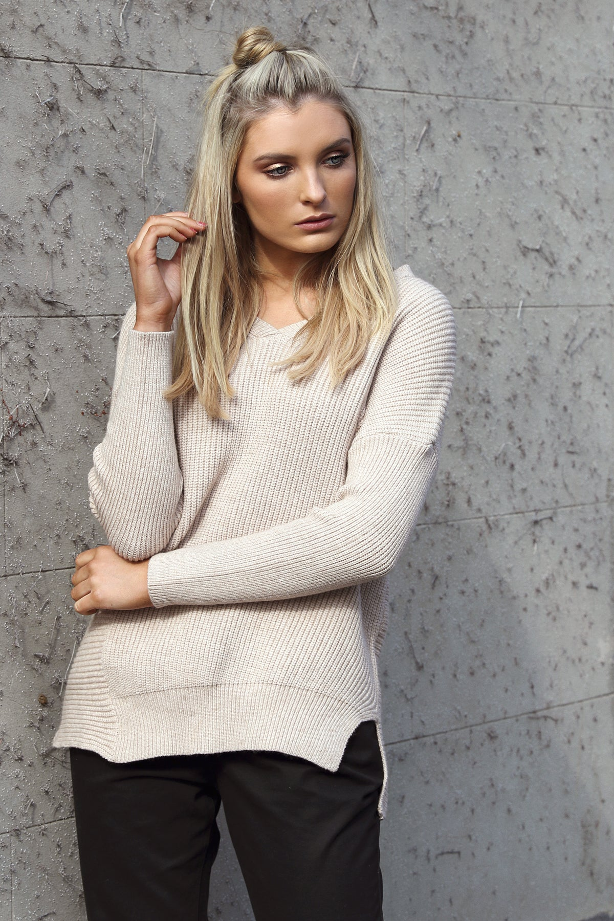 All Angles Knit in Nude