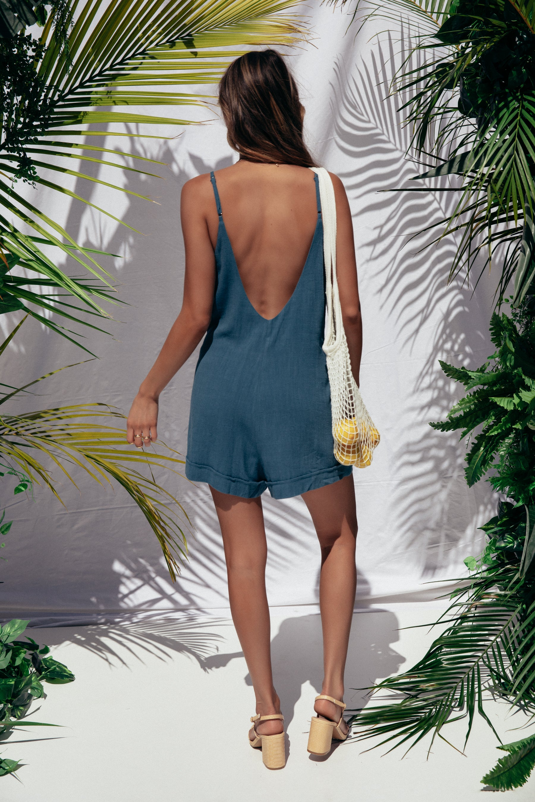 Jungle Playsuit - Teal
