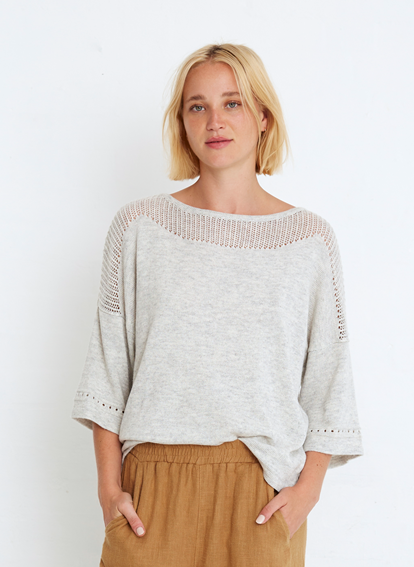 Kiah Knit in Grey