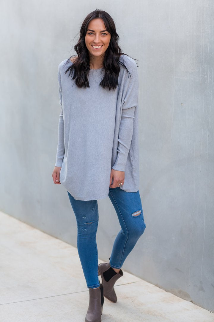 EMMA KNIT - GREY