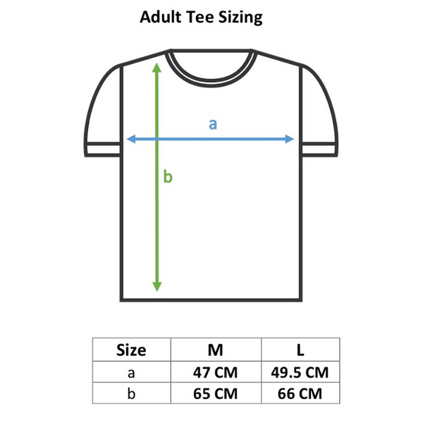 Miso sleepy mama organic t-shirt sizing information