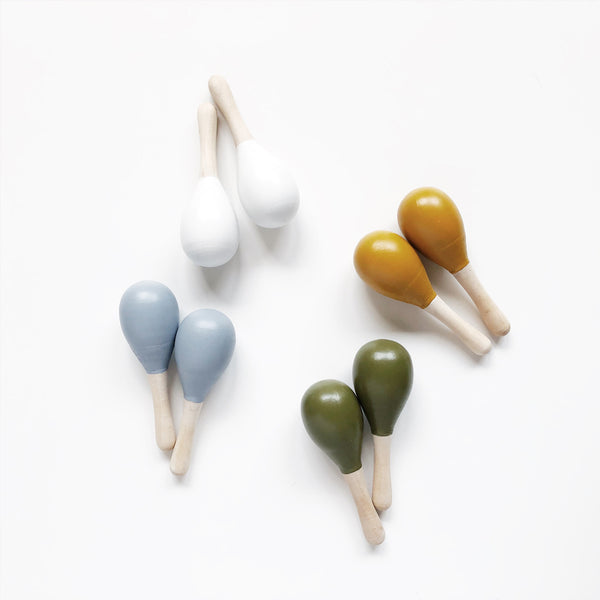 multicolour baby maracas toy